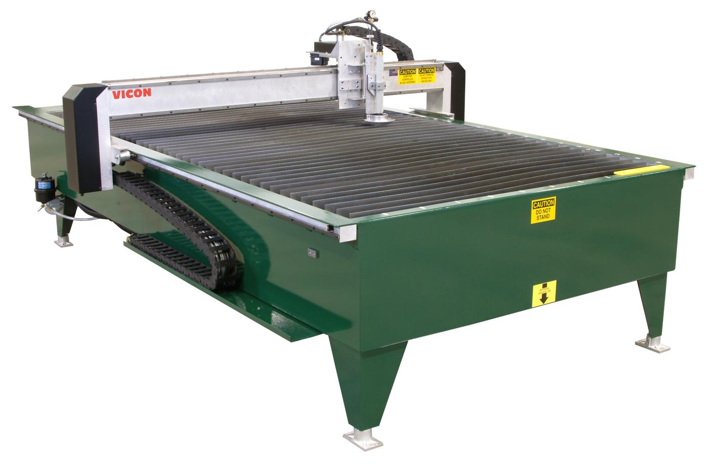 gratey plasma showthread grate portable cutting table